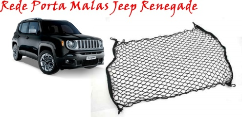 Rede Porta malas Jeep Renegade AutoAba Acessórios