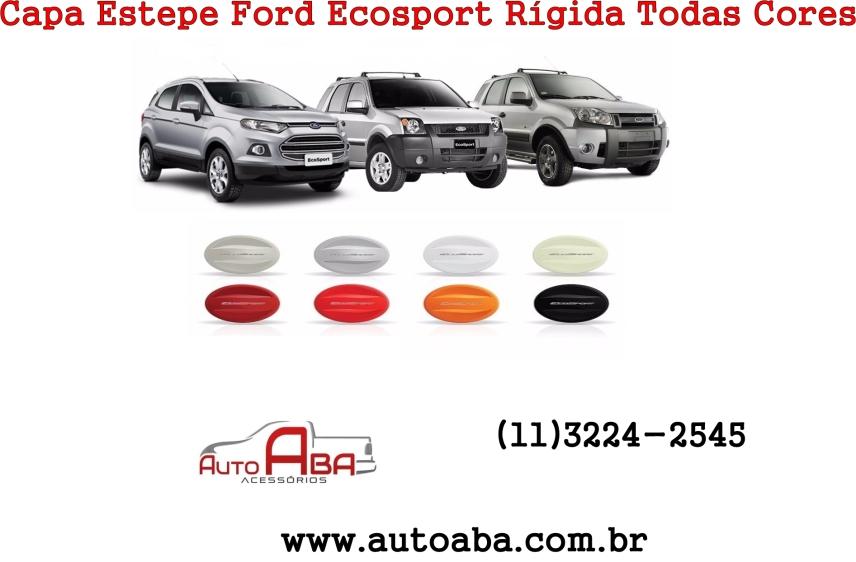 Capa de Estepe Rígida Ford EcoSport de 2004 até 2016
