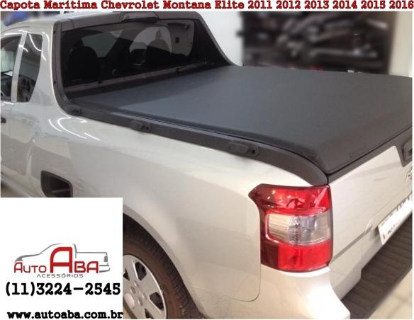 Capota Marítima Chevrolet Montana Elite 2011 2012 2013 2014 2015 2016 - Chevrolet
