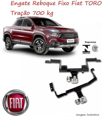 Engate Reboque Fixo Fiat Toro AutoAba acessórios 3