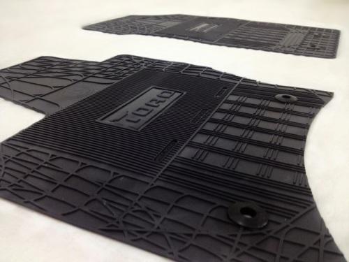 Jogo de tapetes Borracha super reforçado Novo Fiat Toro - AutoAba acessórios